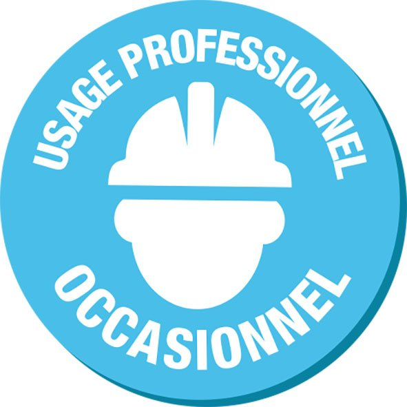 usage professionnel occasionnel
