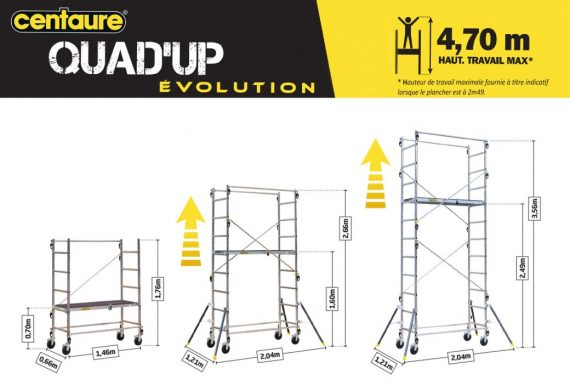 Bandeau Quad UP EVOLUTION