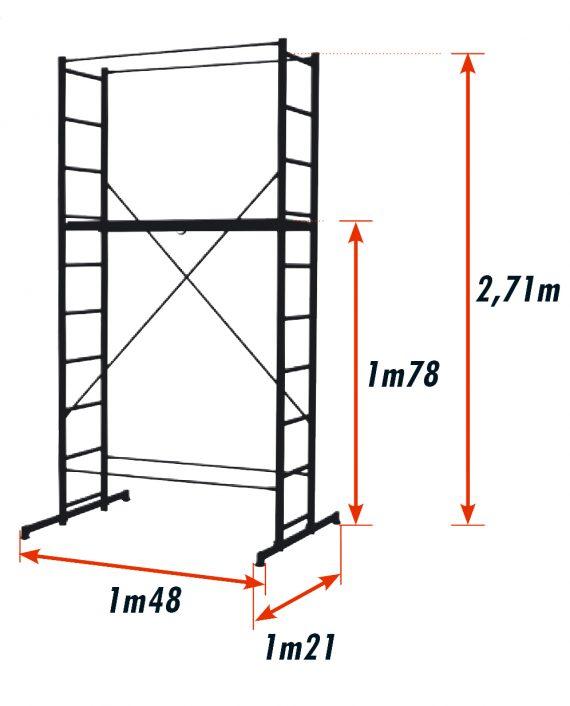 Schéma dimensions B4